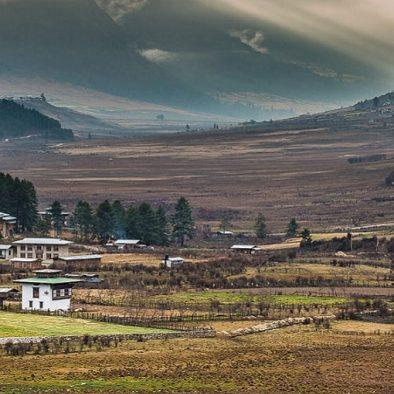 Phobjikha Gangtey-Valley